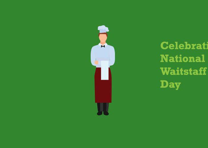 Waitstaff illustration