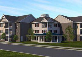 Rendering of Sellersville Senior Apartments